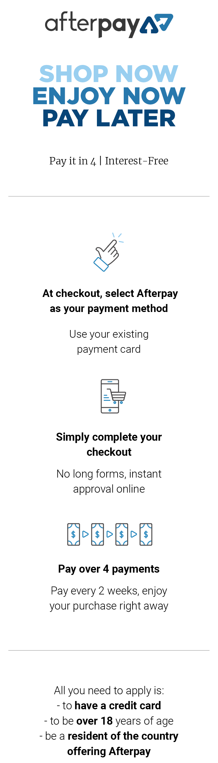 Vertical information overlay for Bluethumb payment method Artmoney