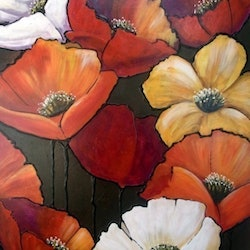 Poppies ron brown bluethumb art