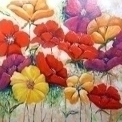 My garden ron brown bluethumb art