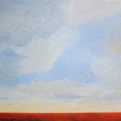 Desert morning john graham bluethumb art