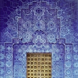 Blue door morocco zach wong bluethumb art
