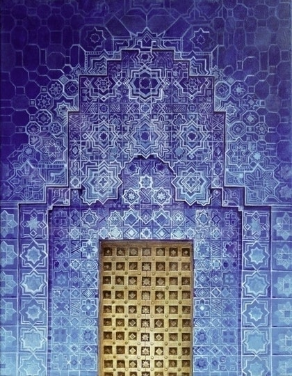 Blue Door: Morocco
