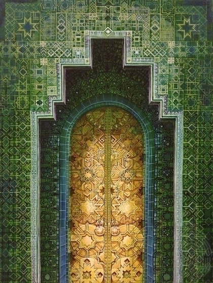 Green Door: Moroccan