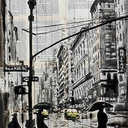 One day in ny loui jover bluethumb art