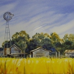 The old dairy kingaroy sue lederhose bluethumb art