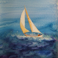 Sailing sue lederhose bluethumb art