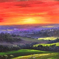 The end of another day christopher vidal bluethumb art