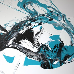 Blue abstract 2015 annette spinks bluethumb art