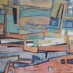 That abstract feeling sue bannister bluethumb art