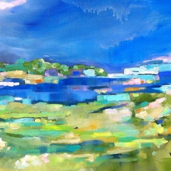 End of the big wet sue bannister bluethumb art