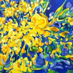 The yellow bouquet sue bannister bluethumb art