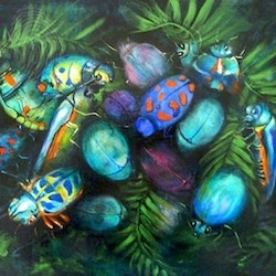 Bugs galore cathy gilday bluethumb art