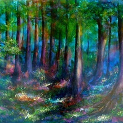 Forest escape cathy gilday bluethumb art