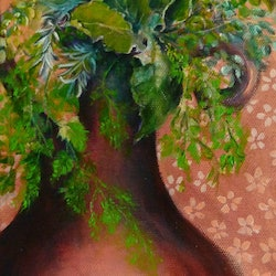 The herb pot cathy gilday bluethumb art