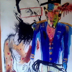 The murder of skerrit paper kelly series sold no longer available stephen homewood bluethumb art