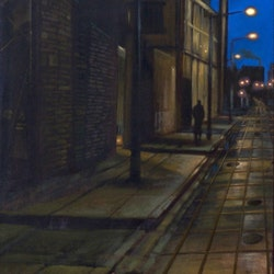 Guitar street greg dwyer bluethumb art