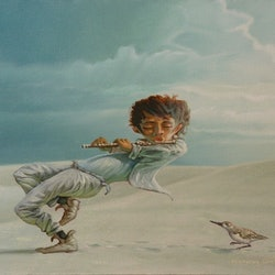 Sandpiper greg dwyer bluethumb art