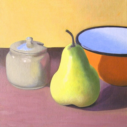Still life - Orange Bowl