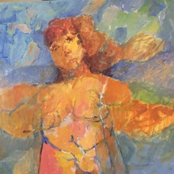 Pregnant angel robert abrahams bluethumb art
