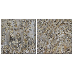 Vanilla spikelets diptych alorna co bluethumb art