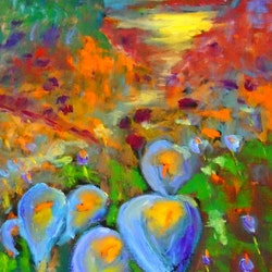 Lilies in the field margaret morgan watkins bluethumb art.jpg?ixlib=rails 2.1