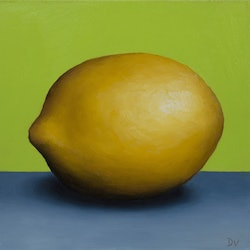 Still life lemon 7 daily painting challenge damien venditti bluethumb art