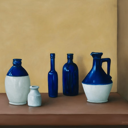 Still life - Old bottle collection