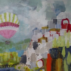 Oh the places you will go christine scurr bluethumb art