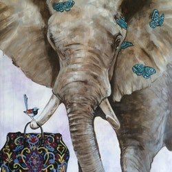 The baggage handler emma ward bluethumb art