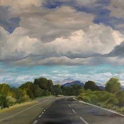 Road ahead maria radun bluethumb art
