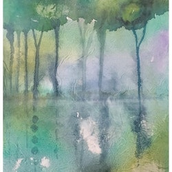 Morning mist caroline deeble bluethumb art