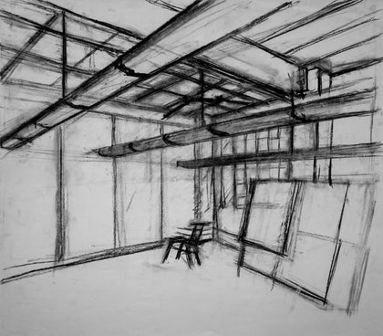 Studio drawing - 6