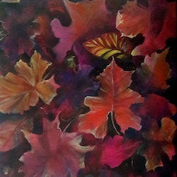 Fall cathy gilday bluethumb art