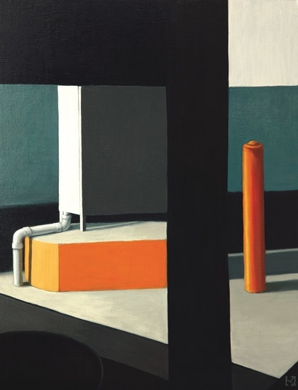 Mondrian Meets Smart at the Airport (Limited Edition Print 1 of 25)