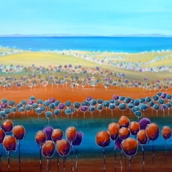 Down to the bay ron brown bluethumb art