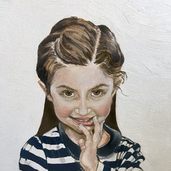Isabelle part of the cheeky monkeys series donna christie bluethumb art