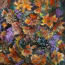 Grapevine whispers cathy gilday bluethumb art