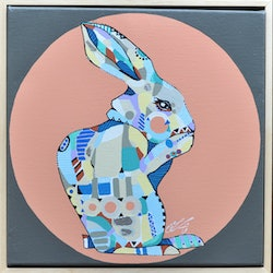 Patterned rabbit tamara armstrong bluethumb art