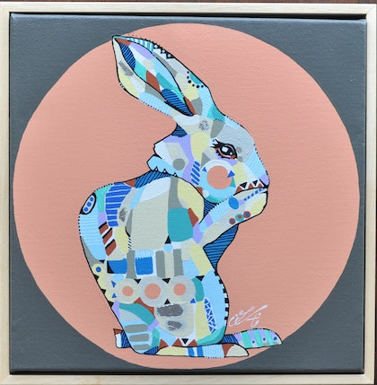 Patterned Rabbit