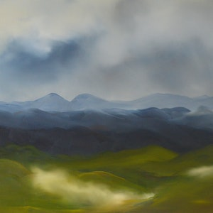 Valley mist 1 part 1 of diptych elaine green bluethumb art