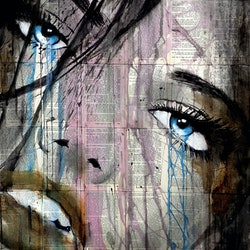 Whether or not loui jover bluethumb art