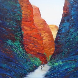 Through the bungle bungles clare riddington jones bluethumb art