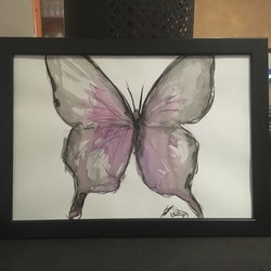 Butterfly 2 kristy lyn osseweyer bluethumb art