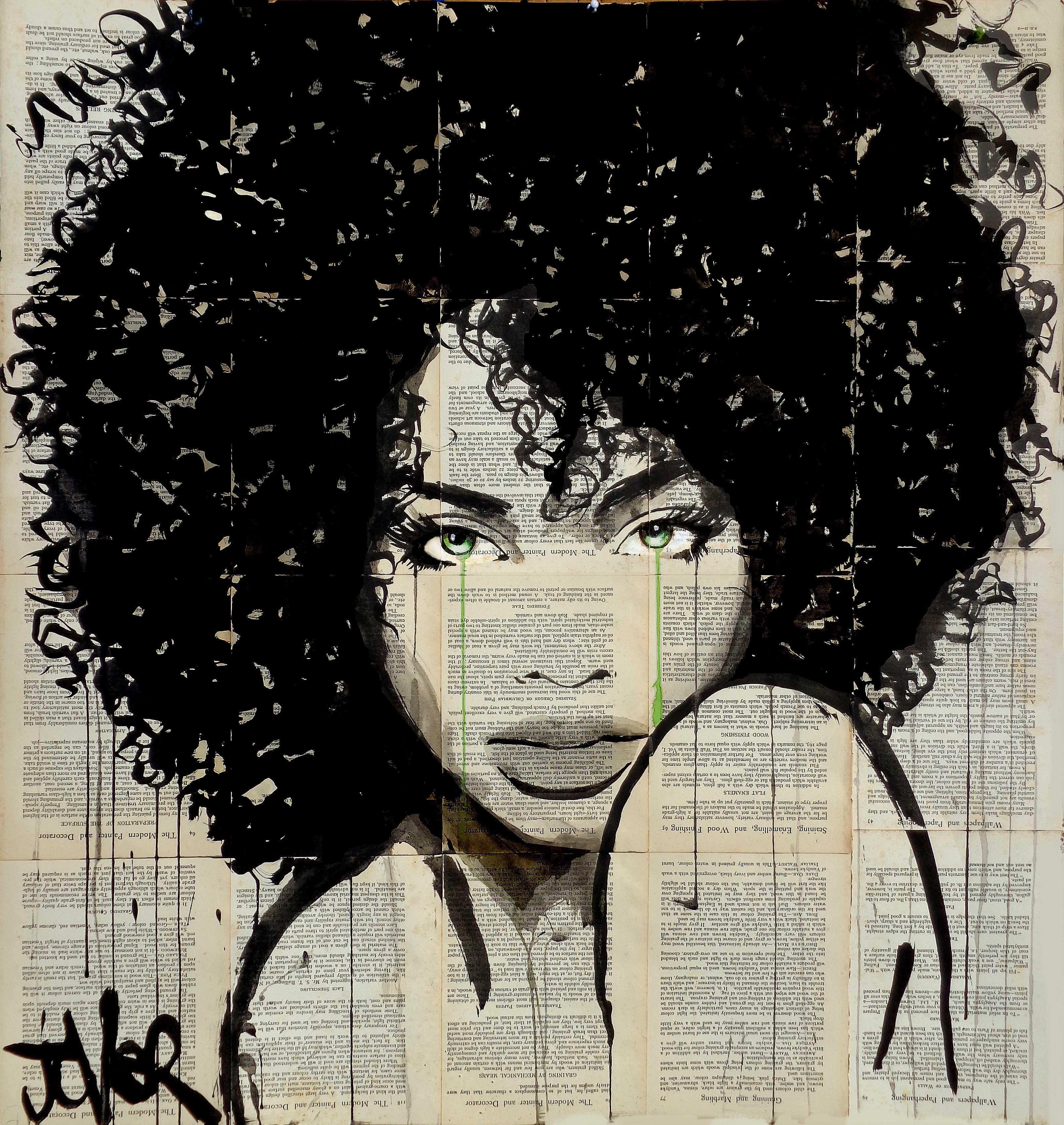 Angel by loui jover paintings for sale bluethumb for Angel paintings for sale