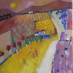 Country road 2 susan trudinger bluethumb art