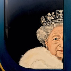The queen seriously donna christie bluethumb art