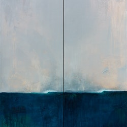 Breathe along diptych scott denholm bluethumb art