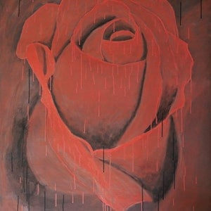 Never crave the rose barry johnson bluethumb art