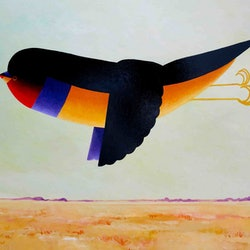Gouldian finch morning john graham bluethumb art
