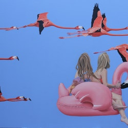 Flight of the flamingos margaret ingles bluethumb art.jpg?ixlib=rails 2.1